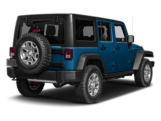 Hydro Blue Pearlcoat 2016 Jeep Wrangler Unlimited Pictures Wrangler Unlimited Utility 4D Unlimited Rubicon 4WD V6 photos rear view