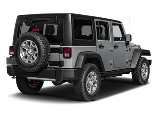 Billet Silver Metallic Clearcoat 2016 Jeep Wrangler Unlimited Pictures Wrangler Unlimited Utility 4D Unlimited Rubicon 4WD V6 photos rear view