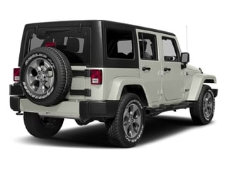 Bright White Clearcoat 2016 Jeep Wrangler Unlimited Pictures Wrangler Unlimited Utility 4D Unlimited Sahara 4WD V6 photos rear view