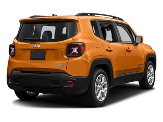 Omaha Orange 2016 Jeep Renegade Pictures Renegade Utility 4D Latitude 2WD I4 photos rear view