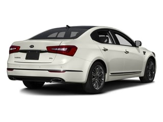 Snow White Pearl 2016 Kia Cadenza Pictures Cadenza Sedan 4D Limited V6 photos rear view