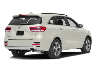 Snow White Pearl 2016 Kia Sorento Pictures Sorento Utility 4D SX 2WD V6 photos rear view