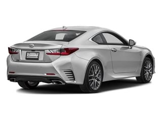 Silver Lining Metallic 2016 Lexus RC 350 Pictures RC 350 Coupe 2D RC350 AWD V6 photos rear view