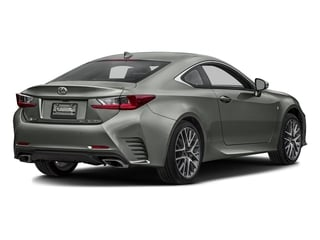 Atomic Silver 2016 Lexus RC 350 Pictures RC 350 Coupe 2D RC350 AWD V6 photos rear view