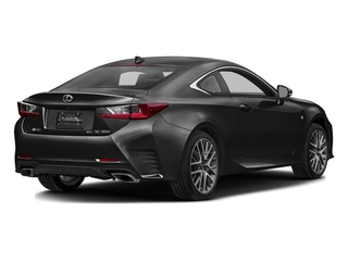 Obsidian 2016 Lexus RC 350 Pictures RC 350 Coupe 2D RC350 AWD V6 photos rear view