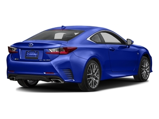 Ultrasonic Blue Mica 2.0 2016 Lexus RC 350 Pictures RC 350 Coupe 2D RC350 AWD V6 photos rear view