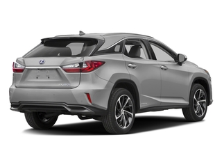 Silver Lining Metallic 2016 Lexus RX 450h Pictures RX 450h Utility 4D 2WD V6 Hybrid photos rear view