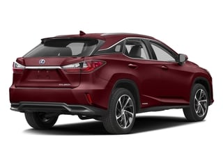 Matador Red Mica 2016 Lexus RX 450h Pictures RX 450h Utility 4D 2WD V6 Hybrid photos rear view
