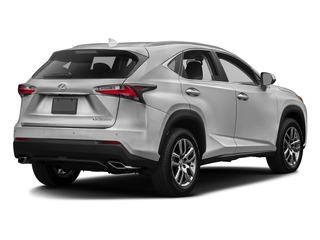 Silver Lining Metallic 2016 Lexus NX 200t Pictures NX 200t Utility 4D NX200t 2WD I4 Turbo photos rear view