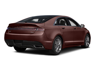 Bronze Fire Metallic Tinted Clearcoat 2016 Lincoln MKZ Pictures MKZ Sedan 4D EcoBoost I4 Turbo photos rear view