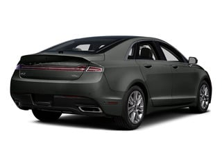 Magnetic Metallic 2016 Lincoln MKZ Pictures MKZ Sedan 4D EcoBoost I4 Turbo photos rear view