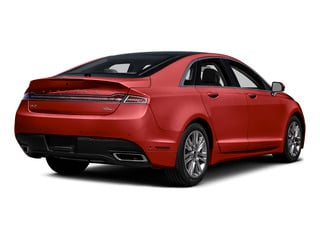 Ruby Red Metallic Tinted Clearcoat 2016 Lincoln MKZ Pictures MKZ Sedan 4D EcoBoost I4 Turbo photos rear view
