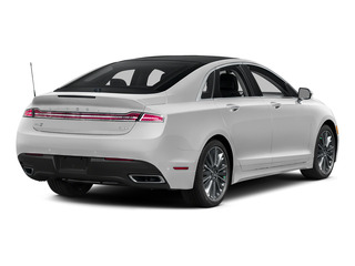 Confidential White 2016 Lincoln MKZ Pictures MKZ Sedan 4D Black Label I4 Hybrid photos rear view