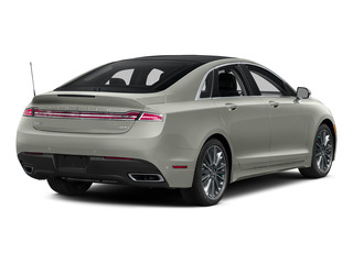 Crystal Silver 2016 Lincoln MKZ Pictures MKZ Sedan 4D Black Label I4 Hybrid photos rear view