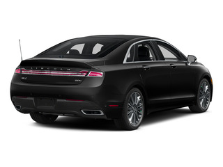 Black Tie 2016 Lincoln MKZ Pictures MKZ Sedan 4D Black Label I4 Hybrid photos rear view