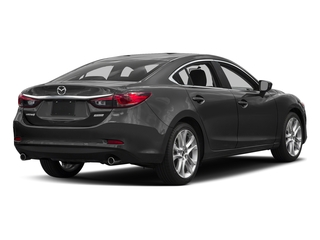 Meteor Gray Mica 2016 Mazda Mazda6 Pictures Mazda6 Sedan 4D i Touring I4 photos rear view