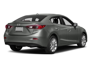 Liquid Silver Metallic 2016 Mazda Mazda3 Pictures Mazda3 Sedan 4D s Touring I4 photos rear view