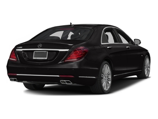 Verde Brook Metallic 2016 Mercedes-Benz S-Class Pictures S-Class Sedan 4D S600 V12 Turbo photos rear view