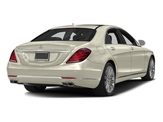 designo Diamond White 2016 Mercedes-Benz S-Class Pictures S-Class Sedan 4D S600 V12 Turbo photos rear view