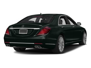 Emerald Green Metallic 2016 Mercedes-Benz S-Class Pictures S-Class Sedan 4D S600 V12 Turbo photos rear view