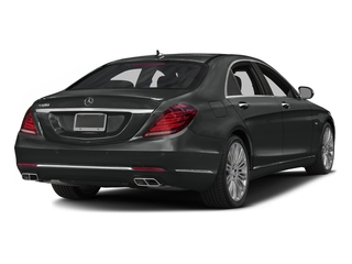 Selenite Grey Metallic 2016 Mercedes-Benz S-Class Pictures S-Class Sedan 4D S600 V12 Turbo photos rear view