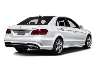 Polar White 2016 Mercedes-Benz E-Class Pictures E-Class Sedan 4D E350 AWD V6 photos rear view