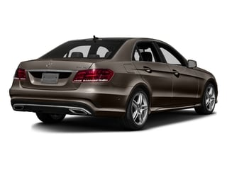 Dolomite Brown Metallic 2016 Mercedes-Benz E-Class Pictures E-Class Sedan 4D E350 V6 photos rear view