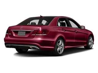 designo Cardinal Red Metallic 2016 Mercedes-Benz E-Class Pictures E-Class Sedan 4D E350 V6 photos rear view