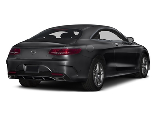 Black 2016 Mercedes-Benz S-Class Pictures S-Class Coupe 2D S550 AWD V8 Turbo photos rear view