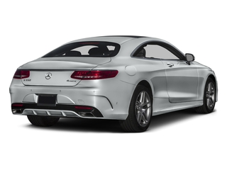 Iridium Silver Metallic 2016 Mercedes-Benz S-Class Pictures S-Class Coupe 2D S550 AWD V8 Turbo photos rear view
