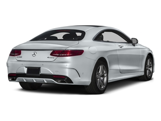 Diamond Silver Metallic 2016 Mercedes-Benz S-Class Pictures S-Class Coupe 2D S550 AWD V8 Turbo photos rear view