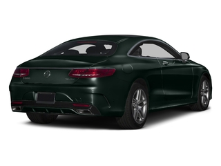 Emerald Green Metallic 2016 Mercedes-Benz S-Class Pictures S-Class Coupe 2D S550 AWD V8 Turbo photos rear view
