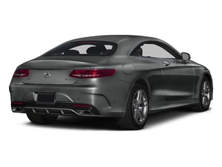 Selenite Grey Metallic 2016 Mercedes-Benz S-Class Pictures S-Class Coupe 2D S550 AWD V8 Turbo photos rear view