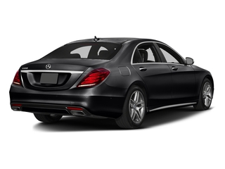 Black 2016 Mercedes-Benz S-Class Pictures S-Class Sedan 4D S550 AWD V8 Turbo photos rear view