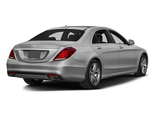 designo Magno Alanite Gray (Matte Finish) 2016 Mercedes-Benz S-Class Pictures S-Class Sedan 4D S550 AWD V8 Turbo photos rear view