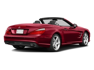 Mars Red 2016 Mercedes-Benz SL Pictures SL Roadster 2D SL550 V8 Turbo photos rear view