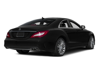 Magnetite Black Metallic 2016 Mercedes-Benz CLS Pictures CLS Sedan 4D CLS550 V8 Turbo photos rear view