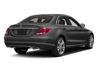 Steel Gray Metallic 2016 Mercedes-Benz C-Class Pictures C-Class Sedan 4D C300 AWD I4 Turbo photos rear view