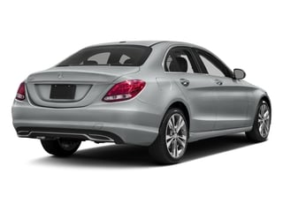 Iridium Silver Metallic 2016 Mercedes-Benz C-Class Pictures C-Class Sedan 4D C300 AWD I4 Turbo photos rear view