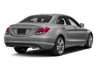 Palladium Silver Metallic 2016 Mercedes-Benz C-Class Pictures C-Class Sedan 4D C300 AWD I4 Turbo photos rear view