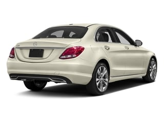 Diamond White Metallic 2016 Mercedes-Benz C-Class Pictures C-Class Sedan 4D C300 AWD I4 Turbo photos rear view