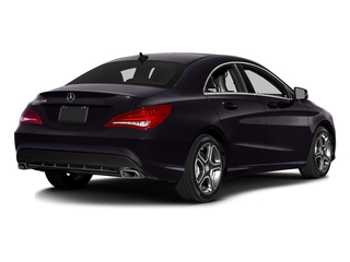Northern Lights Violet Metallic 2016 Mercedes-Benz CLA Pictures CLA Sedan 4D CLA250 AWD I4 Turbo photos rear view