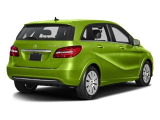 Kryptonite Green Metallic 2016 Mercedes-Benz B-Class Pictures B-Class Hatchback 5D Electric Drive photos rear view