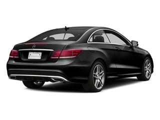 Obsidian Black Metallic 2016 Mercedes-Benz E-Class Pictures E-Class Coupe 2D E400 V6 Turbo photos rear view