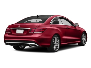 Mars Red 2016 Mercedes-Benz E-Class Pictures E-Class Coupe 2D E400 V6 Turbo photos rear view