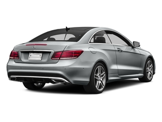 Iridium Silver Metallic 2016 Mercedes-Benz E-Class Pictures E-Class Coupe 2D E400 V6 Turbo photos rear view