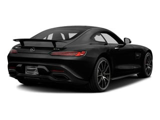 Magnetite Black Metallic 2016 Mercedes-Benz AMG GT Pictures AMG GT S 2 Door Coupe photos rear view