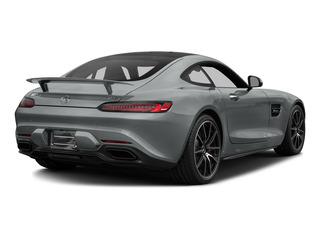 Iridium Silver Metallic 2016 Mercedes-Benz AMG GT Pictures AMG GT S 2 Door Coupe photos rear view