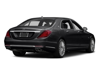Black 2016 Mercedes-Benz S-Class Pictures S-Class Sedan 4D S600 Maybach V12 Turbo photos rear view
