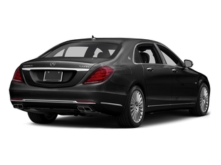 Magnetite Black Metallic 2016 Mercedes-Benz S-Class Pictures S-Class Sedan 4D S600 Maybach V12 Turbo photos rear view